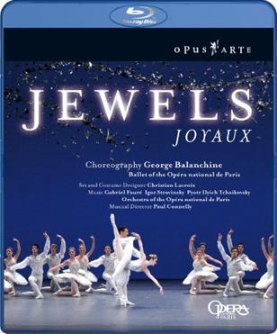 パリ・オペラ座バレエ「ジュエルズ」(直輸入Blu-ray)