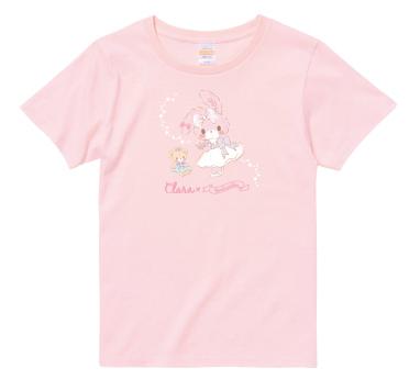Clara × ぼんぼんりぼん コラボTシャツ