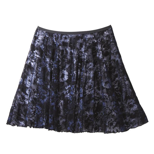 【SALE】CDP-784 フラワーメッシュスカート (クードゥピエ)