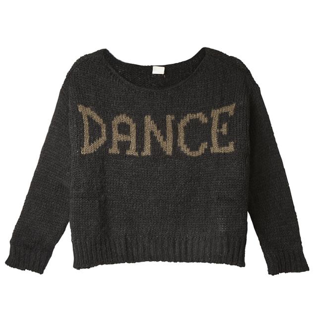 【SALE】〈danza ダンツァ〉44222-6006 DANCEロゴニット