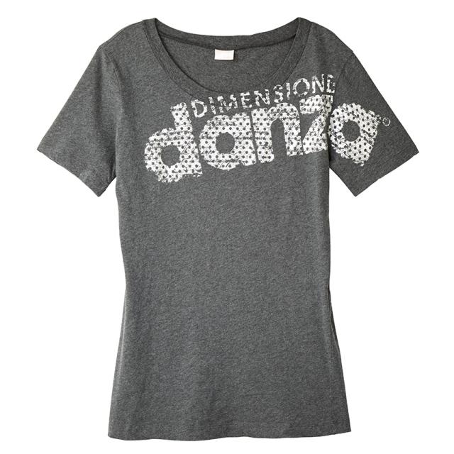 【SALE】〈danza ダンツァ〉36222-4041ロゴTシャツ