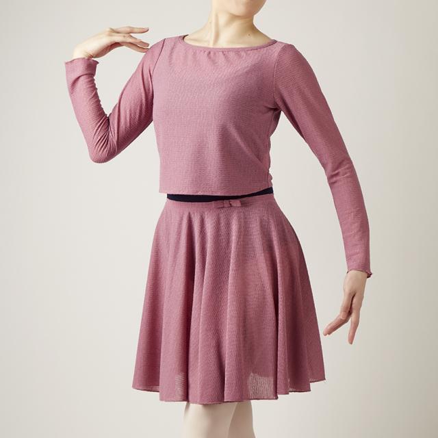 【SALE】CDP-837 リボン付スカート (クードゥピエ)
