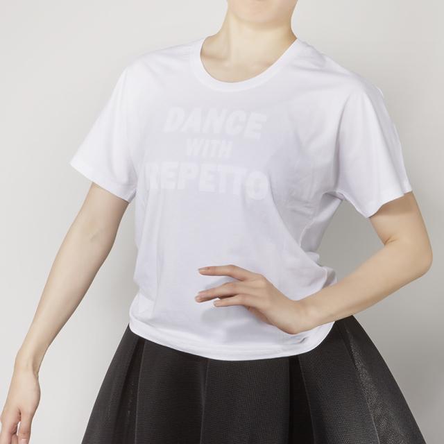 【SALE】〈レペット〉S0438 DWRロゴビッグTシャツ