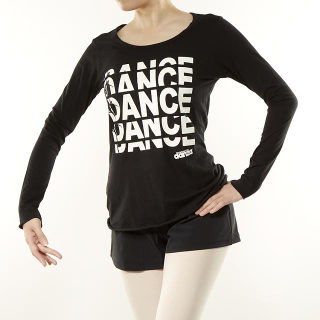 〈danza ダンツァ〉50222-4024 DANCEロゴTシャツ