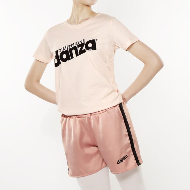 〈danza ダンツァ〉51222-4004 danzaロゴTシャツ