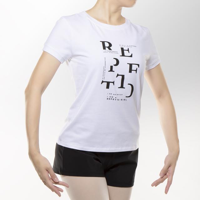 〈レペット〉R0252 ロゴデザインTシャツ