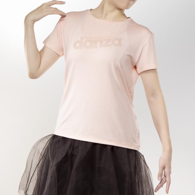 〈danza ダンツァ〉52222-4017 danzaロゴTシャツ