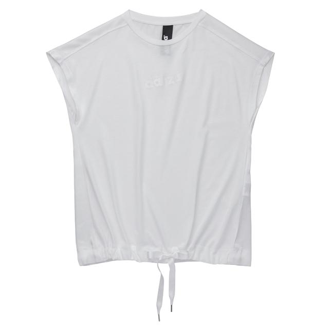 〈danza ダンツァ〉53222-4061 バックサテンロゴTシャツ