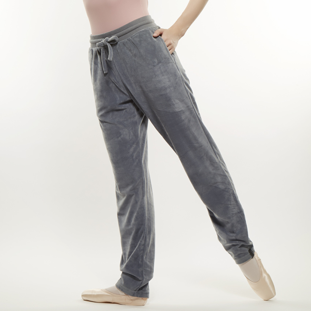 【SALE】〈danza ダンツァ〉50222-2033 ベロアロングパンツ