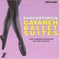 CD KHACHATURIAN GAYANEH BALLET SUITES (HCD-3087)