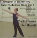 CD Music for Ballet Masters - Ballet Technique Class Vol.3 (BM-BT3)