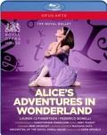 英国ロイヤル・バレエ「不思議の国のアリス」全3幕・2017  (直輸入Blu-ray)