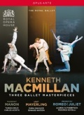 ケネス・マクミラン:バレエBOX (直輸入DVD-BOX)