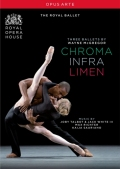 【OpusArte&BelAirフェア】英国ロイヤル・バレエ団マクレガー「トリプルビル」<クローマ><インフラ><リーメン>(直輸入DVD)