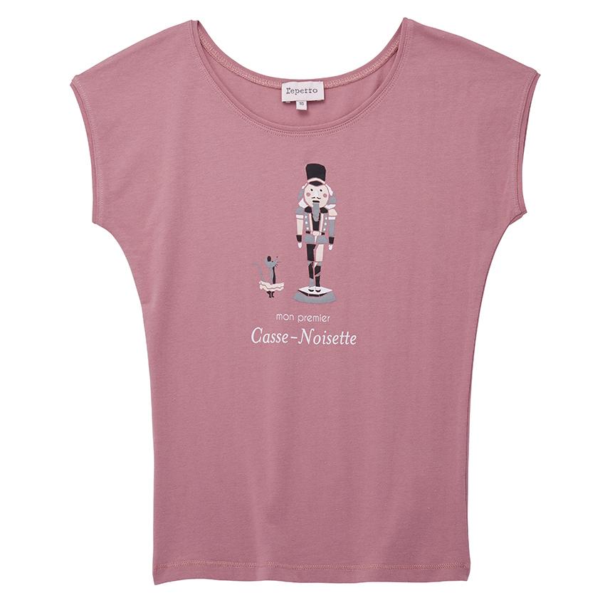 【SALE】〈レペット〉SE346 ジュニアTシャツ(くるみ割り人形)