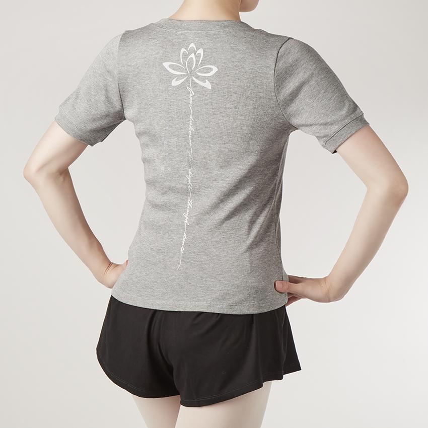 〈レペット〉S0420 バックプリントTシャツ