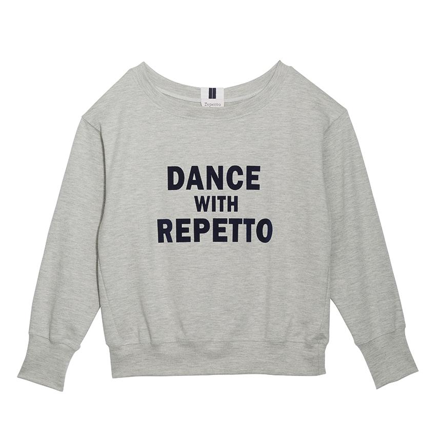 〈レペット〉S0442C スウェットロングTシャツ