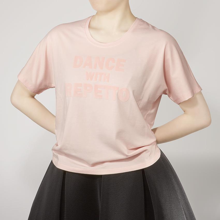 〈レペット〉S0438 DWRロゴビッグTシャツ