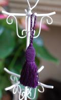 タッセル2個セット 紫 フランス製