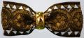 フランス製ヴィンテージリボンで作ったヘアバレッタです・ファミーユオリジナル
