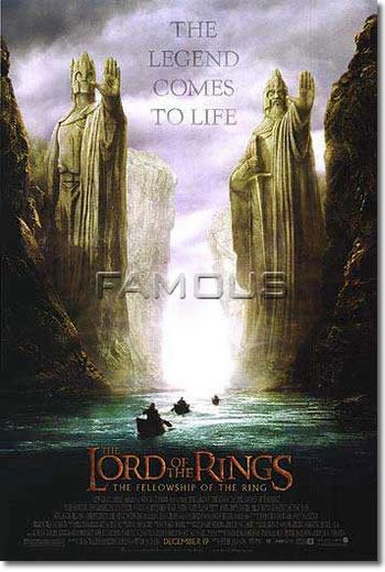 【映画ポスター】 ロードオブザリング (THE LORD OF THE RINGS) REG-A-両面 オリジナルポスター