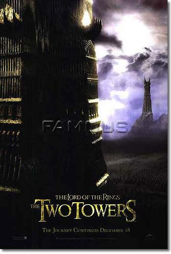 【映画ポスター】 ロードオブザリング 二つの塔 ADV-両面 オリジナルポスター