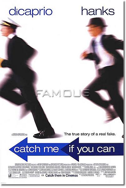 【映画ポスター】 キャッチ ミー イフ ユー キャン (CATCH ME IF YOU CAN) A-両面 オリジナルポスター