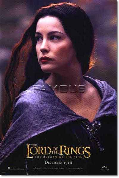 【映画ポスター】 ロードオブザリング 王の帰還 Arwen ADV-両面 オリジナルポスター
