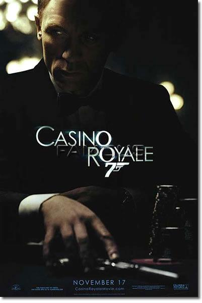【映画ポスター】 007 カジノロワイヤル (ダニエルクレイグ/Casino Royale) November 17 glossy ADV-両面★公開日記載Ver★ オリジナルポスター