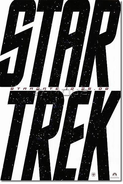 【映画ポスター】 スタートレック (STAR TREK) ADV-SS★公開日変更前のレア版★ オリジナルポスター