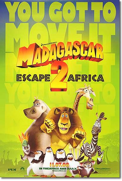 マダガスカル2
