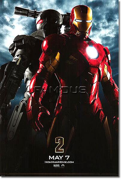 【映画ポスター】 アイアンマン2 (IRON MAN 2) 両面 オリジナルポスター