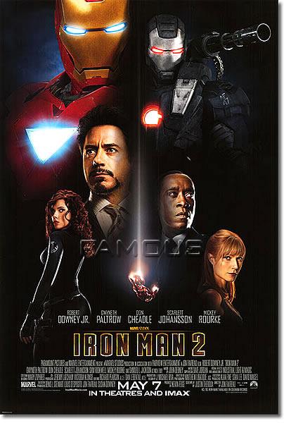 【映画ポスター】 アイアンマン2 (IRON MAN 2) REG-両面 オリジナルポスター