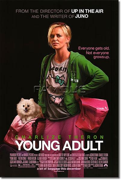 【映画ポスター】 ヤング≒アダルト (シャーリーズセロン/YOUNG ADULT) REG-両面 オリジナルポスター