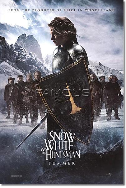 【映画ポスター】 スノーホワイト (クリステンスチュワート) Kristen Stewart ADV-両面 オリジナルポスター