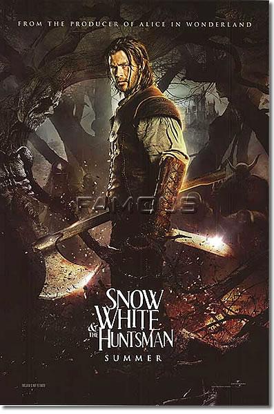 【映画ポスター】 スノーホワイト (クリスヘムズワース) Chris Hemsworth ADV-両面 オリジナルポスター
