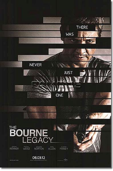 【映画ポスター】 ボーンレガシー (ジェレミーレナー/THE BOURNE LEGACY) ADV-両面 オリジナルポスター