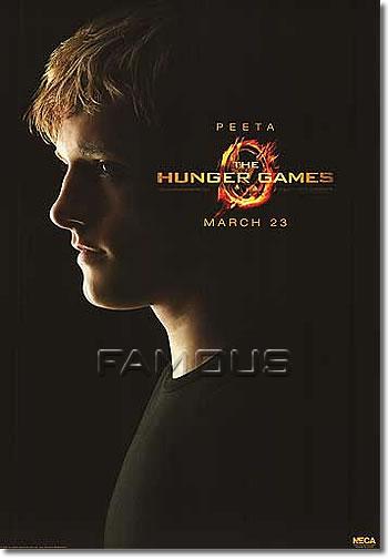 【映画ポスター】 ハンガーゲーム (ジョシュハッチャーソン/THE HUNGER GAMES) REP-Peeta-SS オリジナルポスター