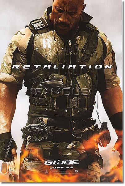 【映画ポスター】 G.I.ジョー バック2リベンジ (G.I. JOE: RETALIATION) ADV-両面 オリジナルポスター