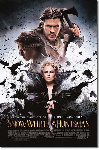 【映画ポスター】 スノーホワイト (SNOW WHITE AND THE HUNTSMAN) REG-両面 オリジナルポスター