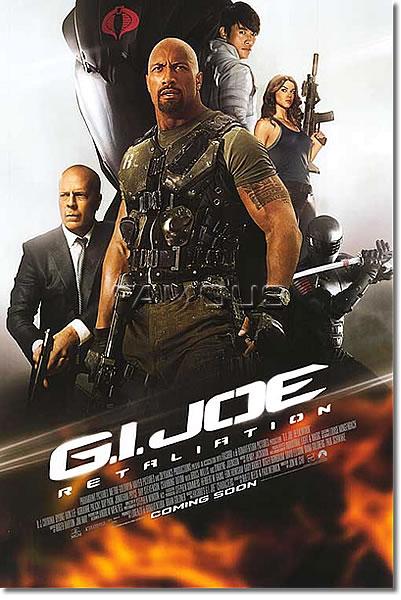 【映画ポスター】 G.I.ジョー バック2リベンジ (G.I. JOE: RETALIATION) 両面 オリジナルポスター