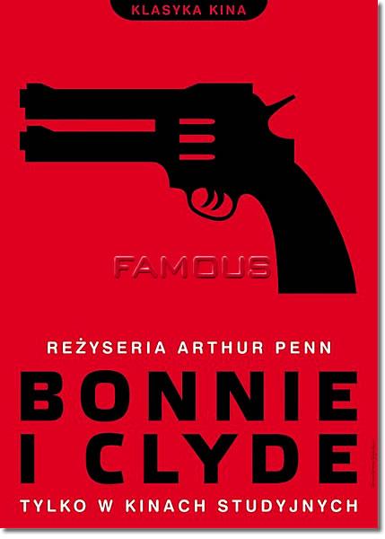 【映画ポスター】 ボニーとクライド/俺たちに明日はない (BONNIE AND CLYDE) Polish-SS★ポーランド版★ オリジナルポスター