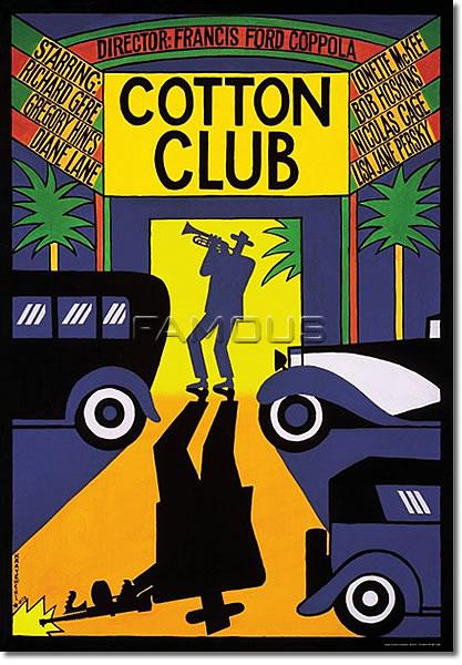 【映画ポスター】 コットンクラブ (THE COTTON CLUB) Polish-SS★ポーランド版★ オリジナルポスター