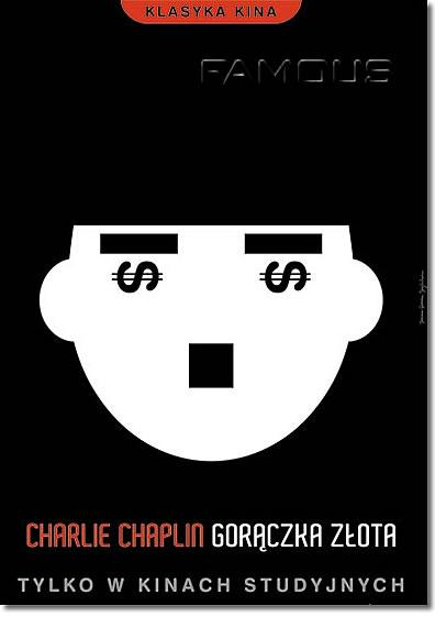 【映画ポスター】 チャップリンの黄金狂時代 (THE GOLD RUSH) Polish-SS★ポーランド版★ オリジナルポスター