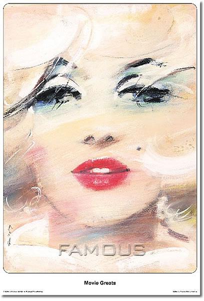 【映画ポスター】 マリリンモンロー (Marilyn Monroe) Polish-SS★ポーランド版★ オリジナルポスター