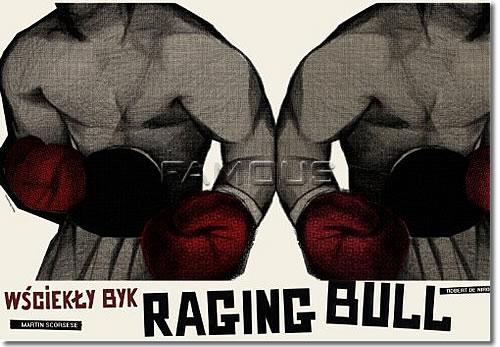 【映画ポスター】 レイジングブル (RAGING BULL) Polish-SS★ポーランド版★ オリジナルポスター