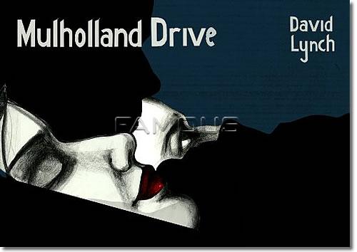 【映画ポスター】 マルホランドドライブ (デヴィッドリンチ/MULHOLLAND DRIVE) Polish-SS オリジナルポスター