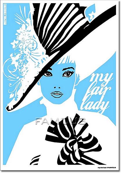 【映画ポスター】 マイフェアレディ (MY FAIR LADY) Polish-SS★ポーランド版★ オリジナルポスター