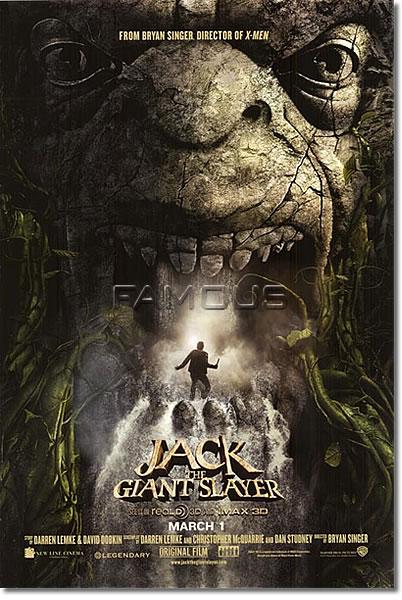 【映画ポスター】 ジャックと天空の巨人 (JACK THE GIANT SLAYER) 両面 オリジナルポスター