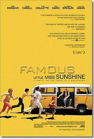 【映画ポスター】 リトルミスサンシャイン (アビゲイルブレスリン/LITTLE MISS SUNSHIN) REG-両面 オリジナルポスター